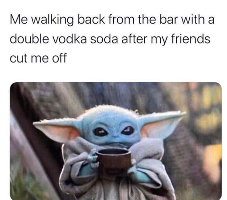 Baby Yoda Memes Just Might Be The Best Of The Year 42 Images Funny Gallery Yoda Funny Yoda Meme Funny Babies