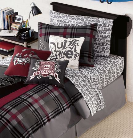 Cotton Decorative Pillow Square 16 X16, Quiksilver Bedding Queen Size