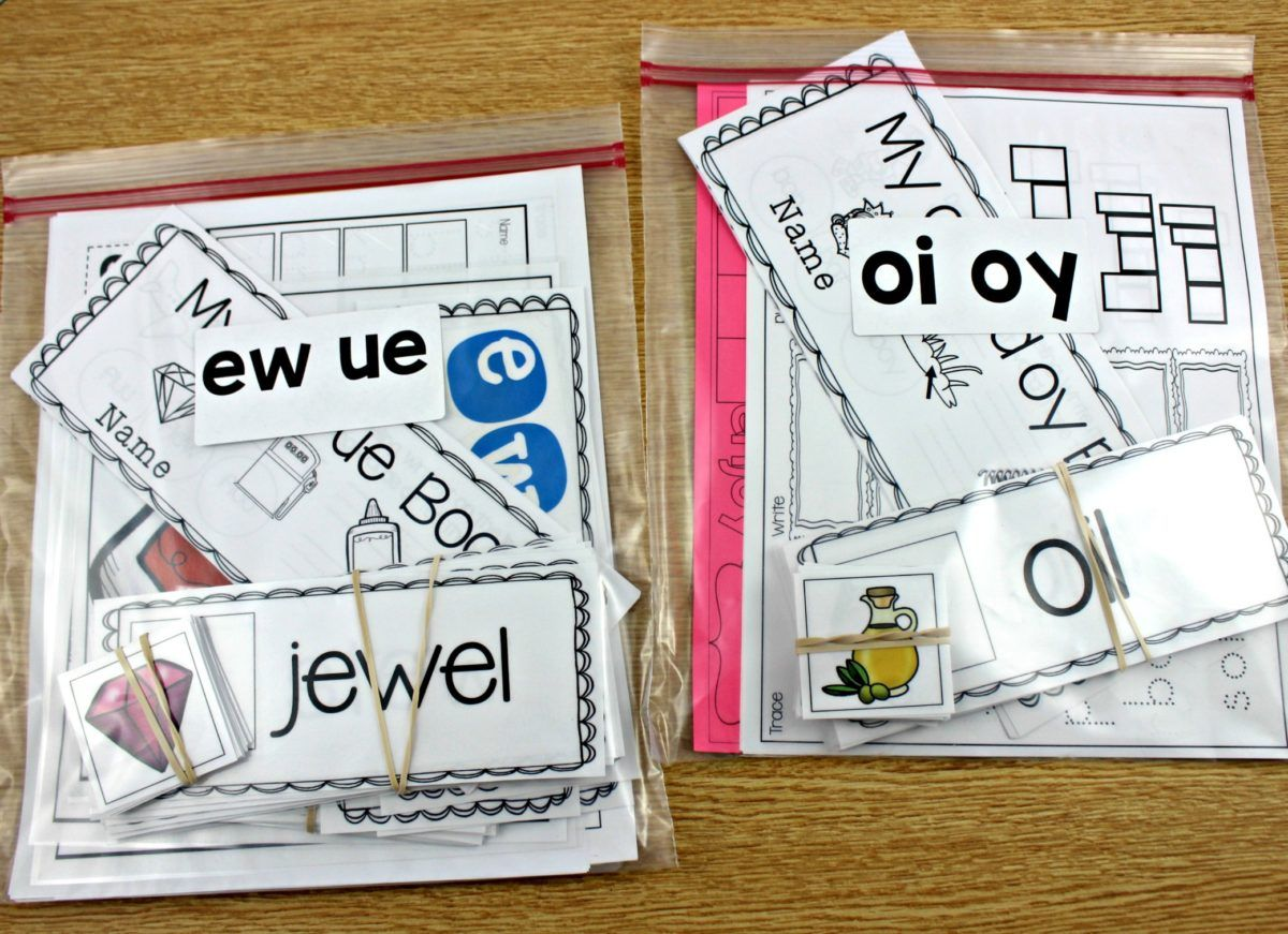 Keeping Up With Phonics And Word Families