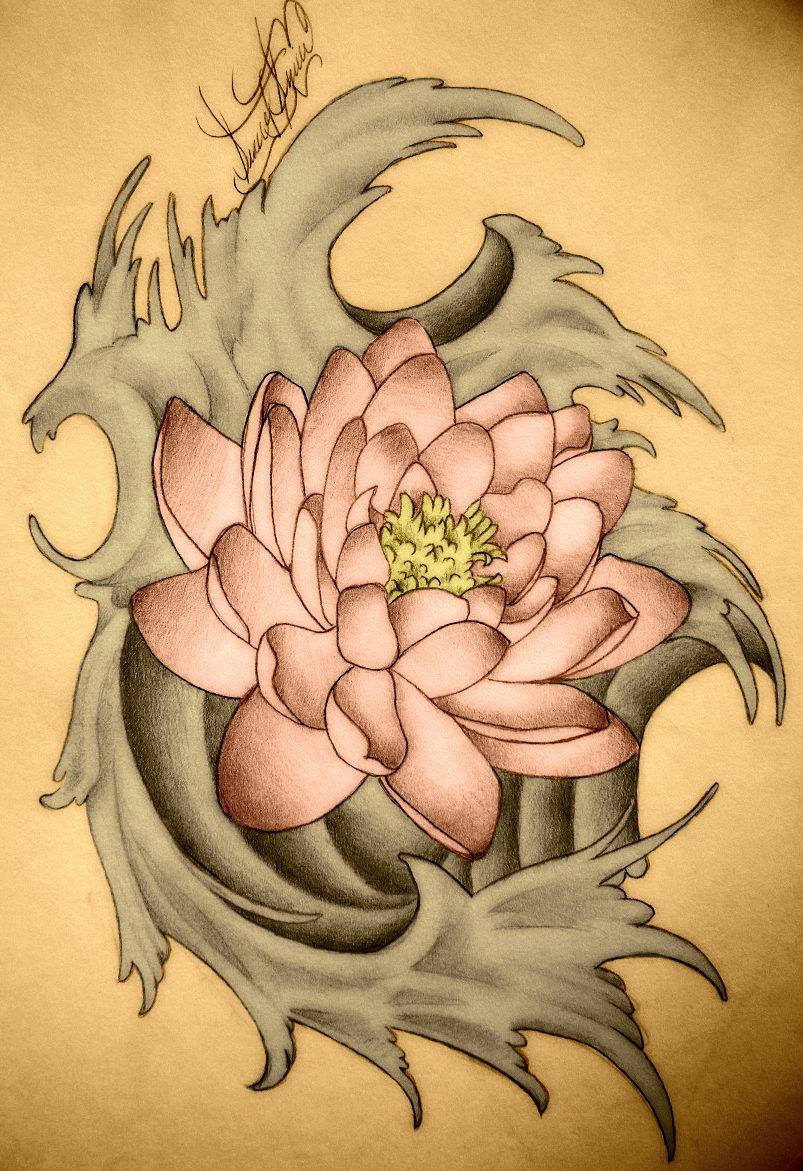 Lotus Tattoo By Mrsundergroundiantart This Is Beautiful To