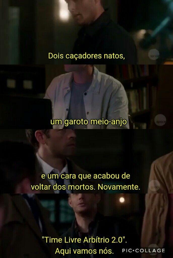 Pin De Ana Borsoi Em Series That I Love Supernatural Engracado