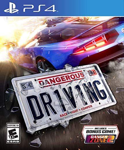 Dangerous Driving (PS4) PlayStation 4