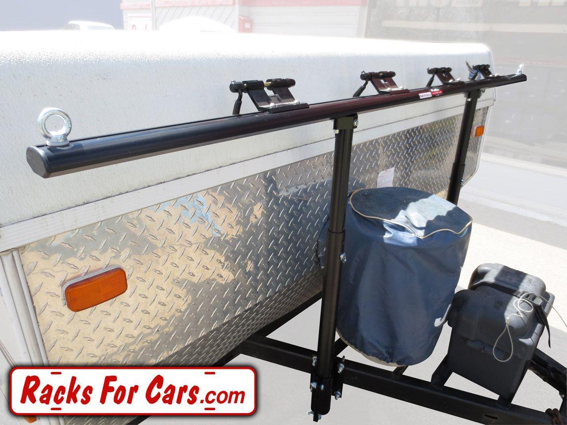 Prorac Proformance Tent Trailer Bike Rack On A Frame