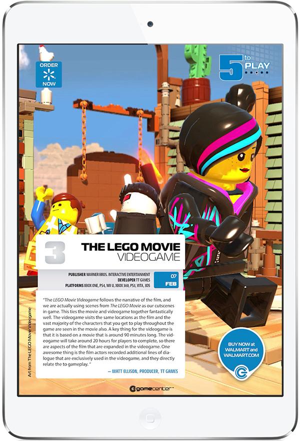 Walmart GameCenter Free Tablet Magazine. More on www.magpla.net MagPlanet #TabletMagazine #DigitalMag