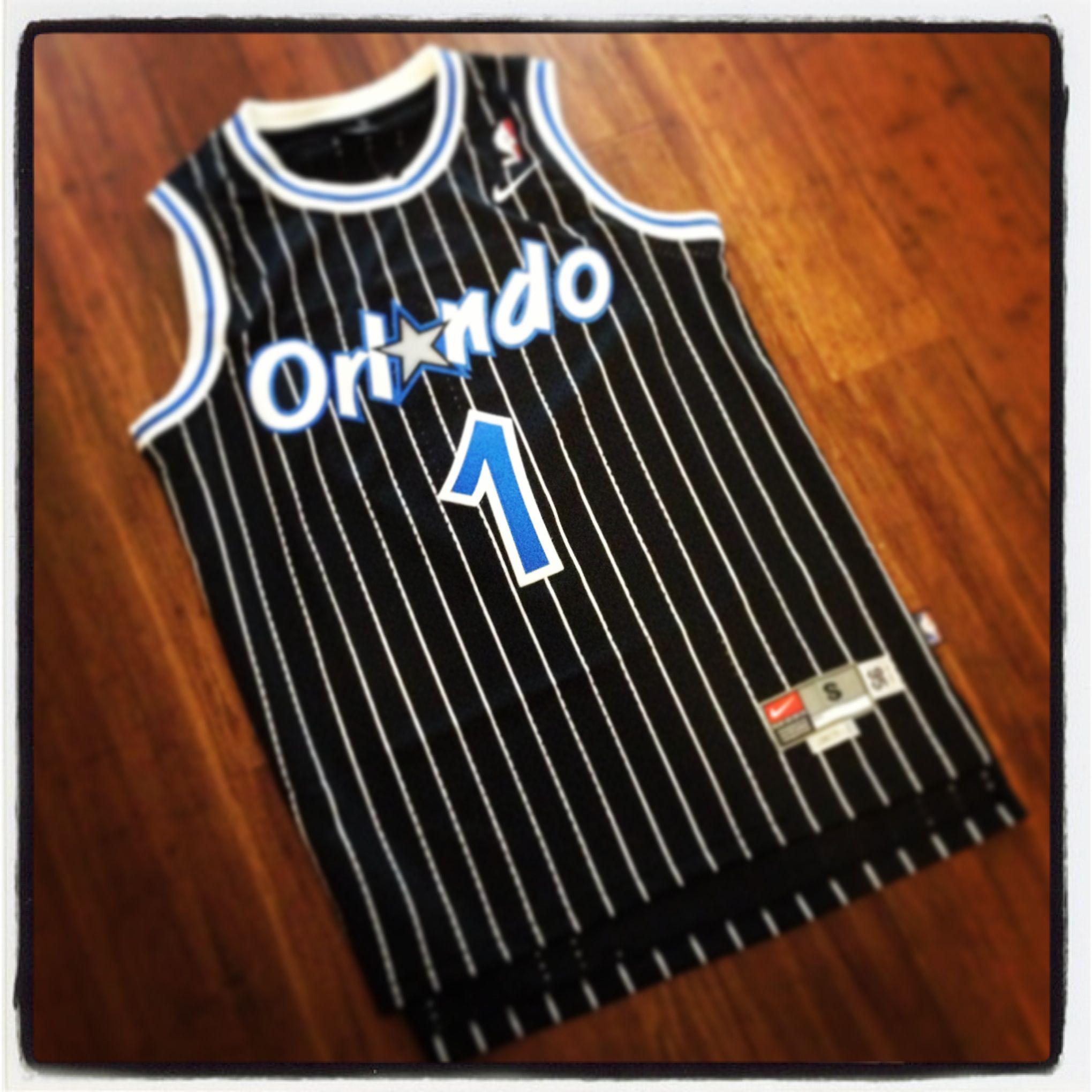 best authentic 40e66 68395 hardwood classic Orlando Magic jersey... Penny Hardaway ...
