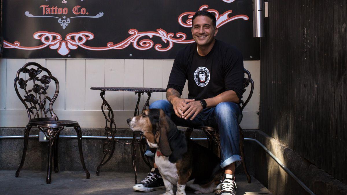 Boston north end barber and tattoo founder rob dello russo