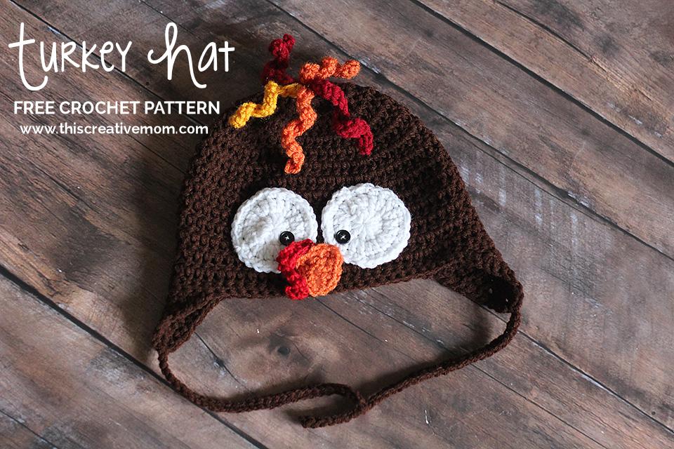 Gorro Pavo - Patrón gratuito | Gorros a crochet - Patrones gratuitos ...