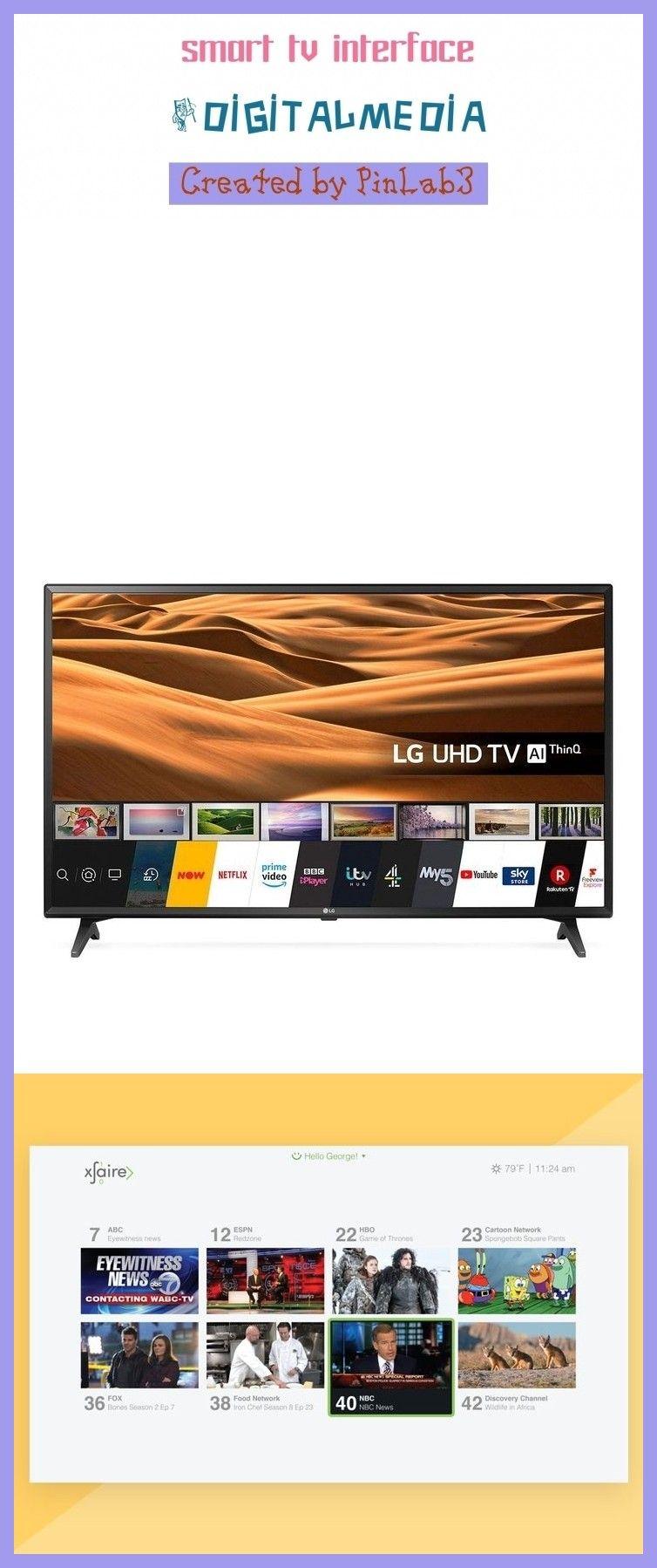 smart tv interface in 2020 Vizio smart tv, Smart tv, Tv