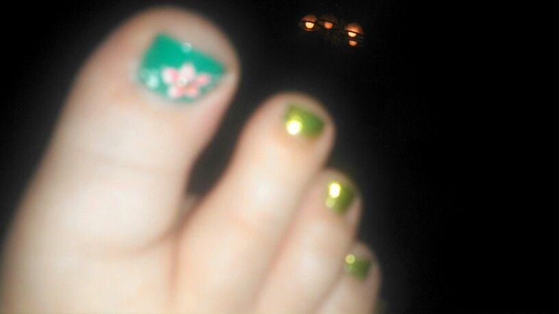 I Call These My Fiona And Shrek Toes Nail Polish Nails Polish