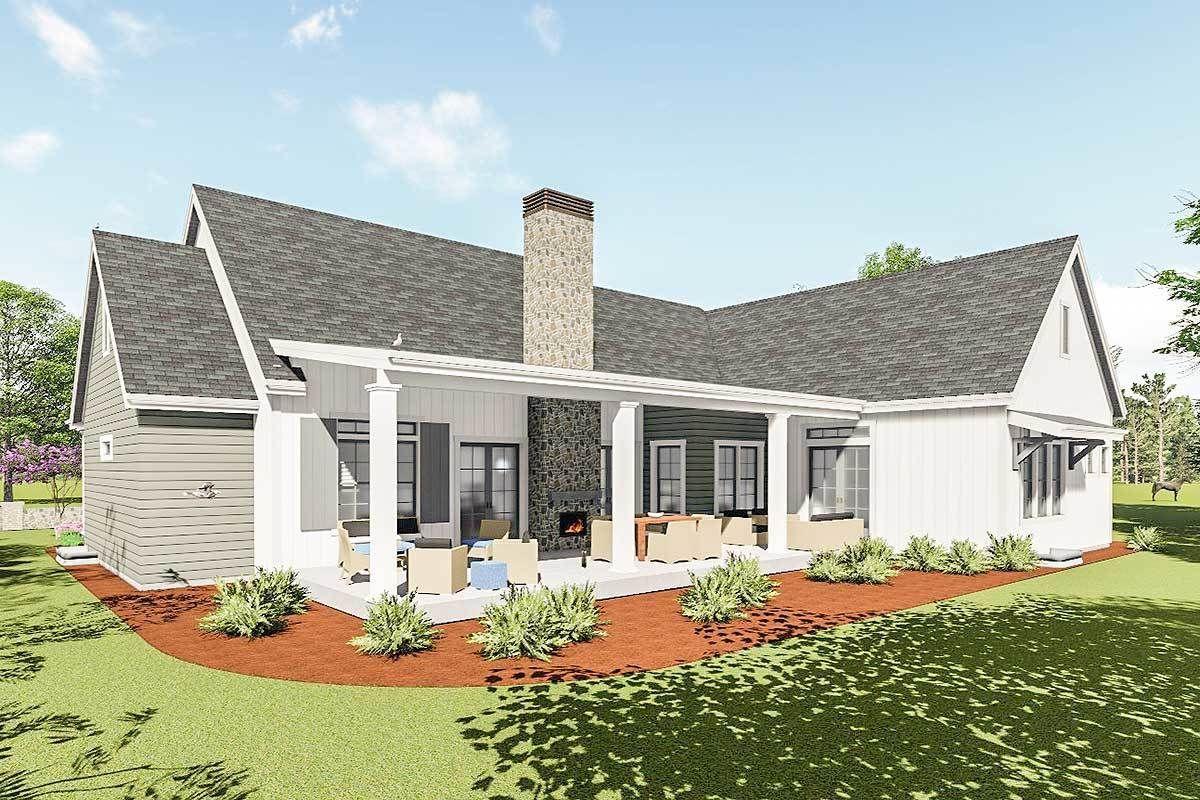 #64460SC #Farmhouse #finished #Level #modern #optional