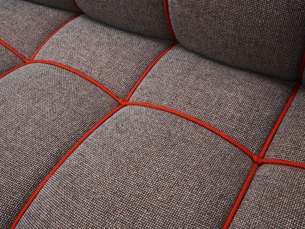 sofa upholstery detail