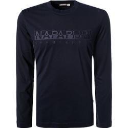 Napapijri Longsleeve Herren, Baumwolle, blau Napapijri #stylishmen