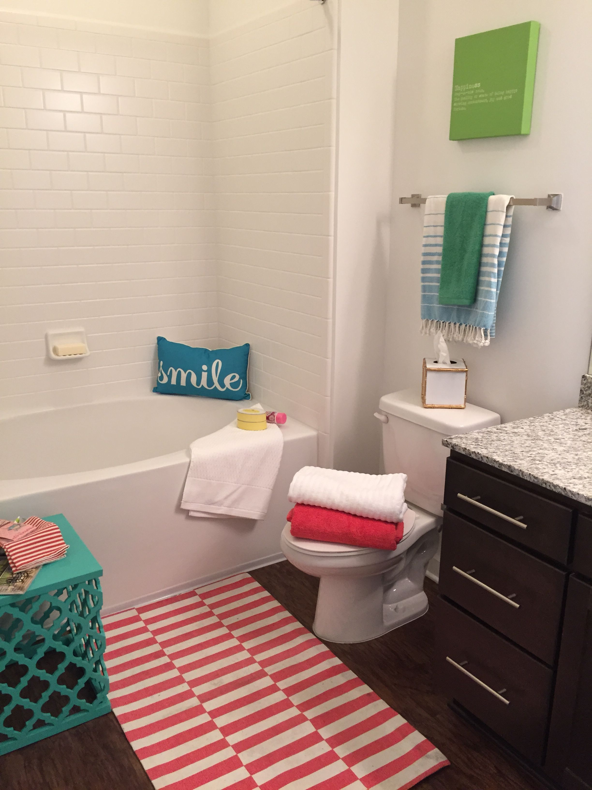 Make Your Bathroom Into Favorite Room Find This Pin And More On Apartment Staging Mini Models