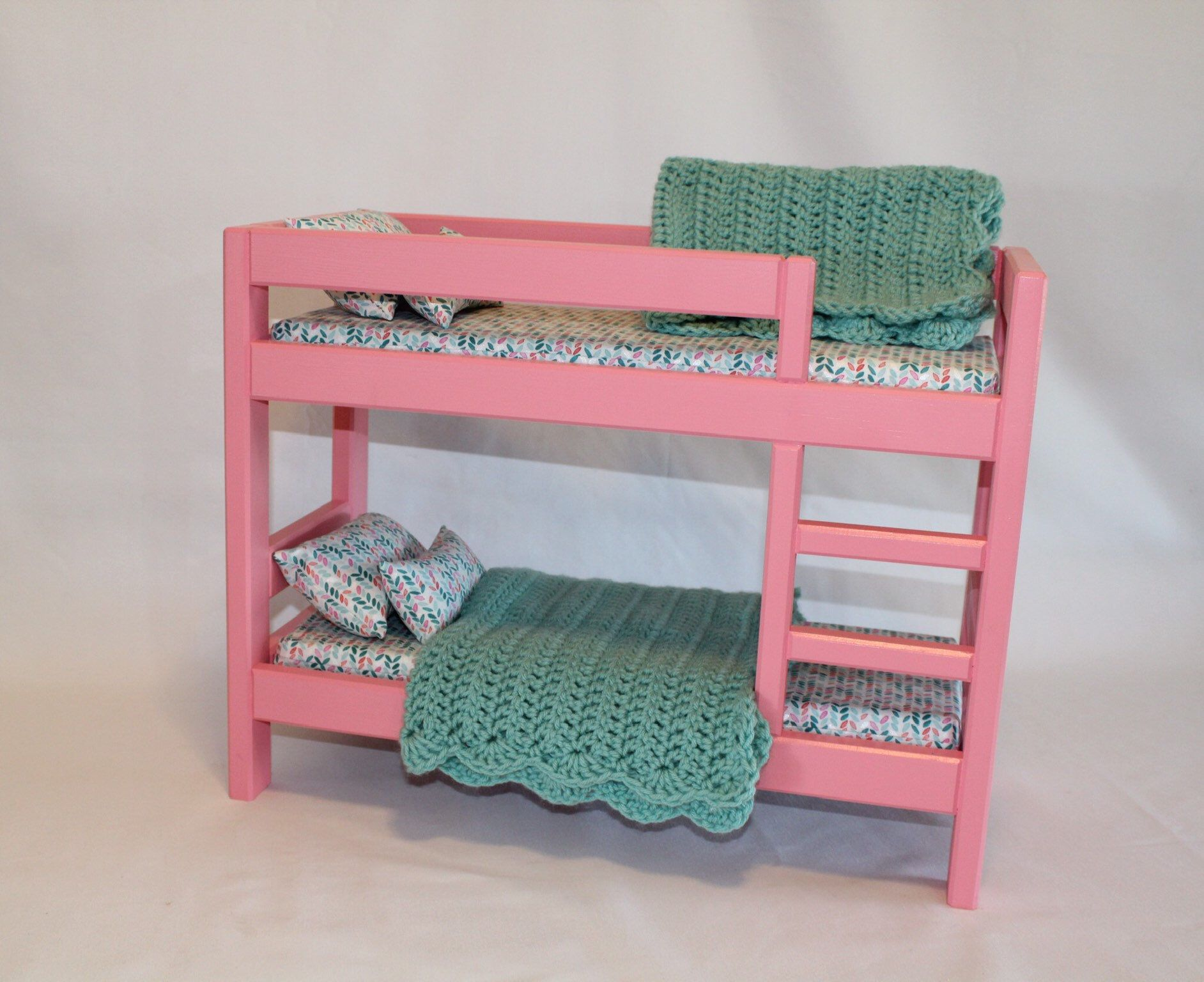 Pink American Girl Bunk Bed Bunk Bed Ag Bed Ag Doll Furniture