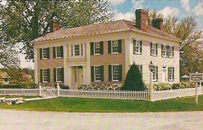 The Mansion House Nauvoo Illinois Postcard Lds Church History Nauvoo Church History Sites