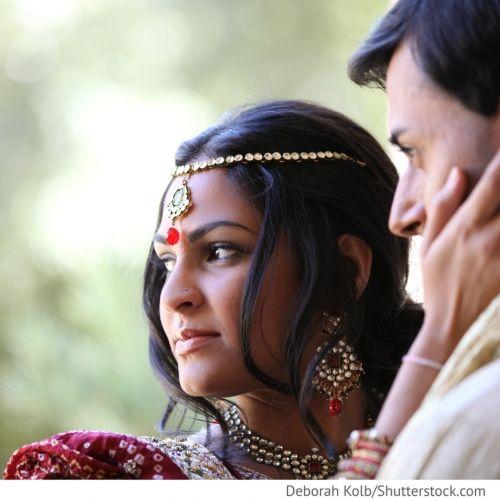 indische russische Hochzeit