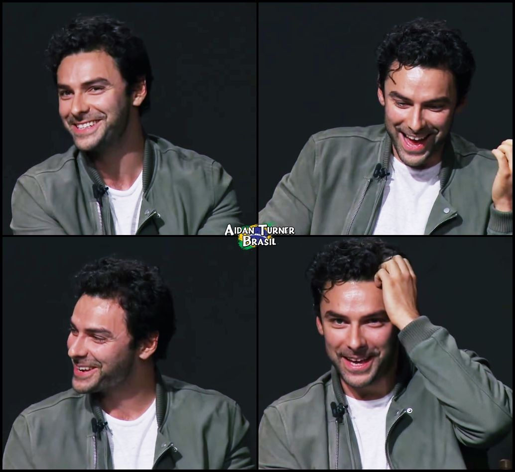 From Aidan Turner Brasil/ facebook