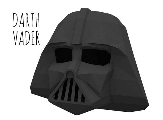 photograph about Darth Vader Printable Mask named Darth Vader helmet (template for print education and learning) / Star
