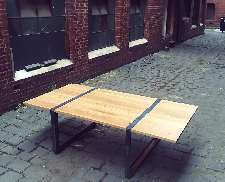 Blackbutt Dining Table Timber Contemporary Furniture Melbourne Design Coffee