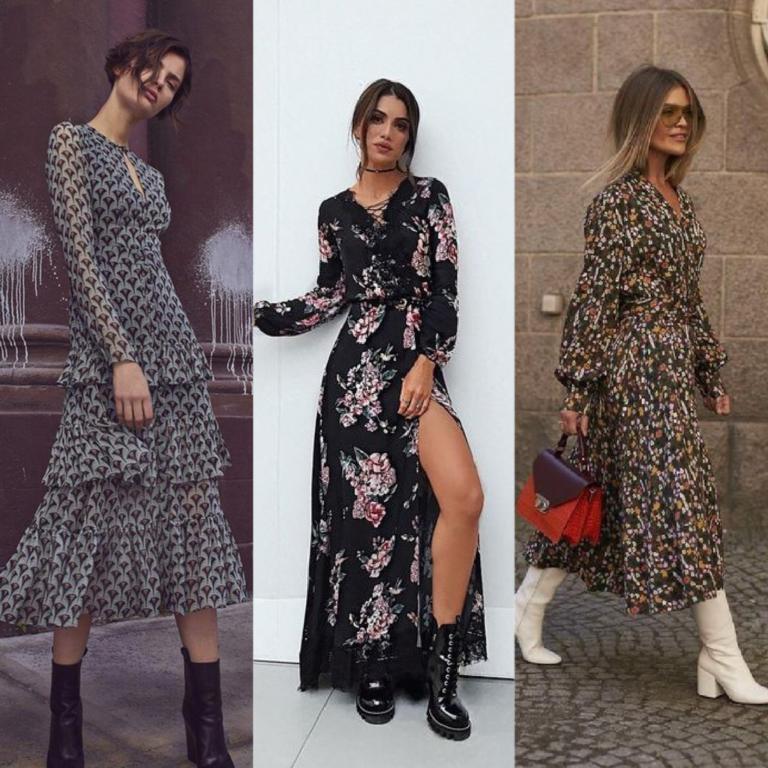 Vestido inverno 2019: Inspire se · Anatomia de uma leitora