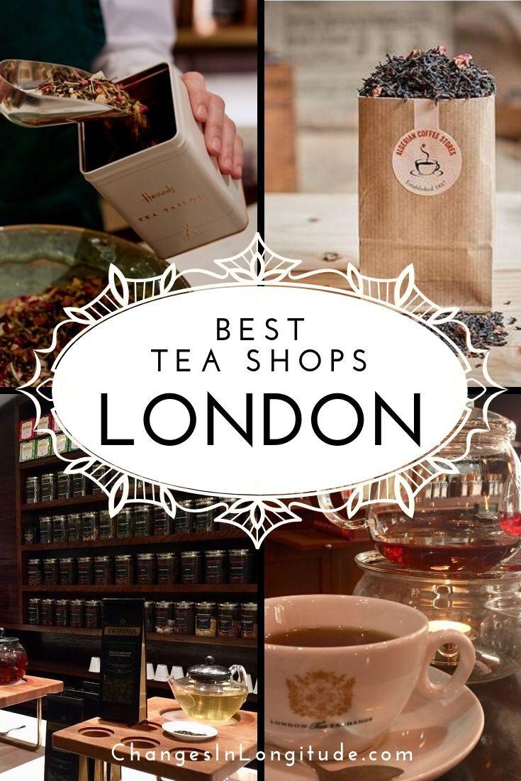 Best tea shops-London