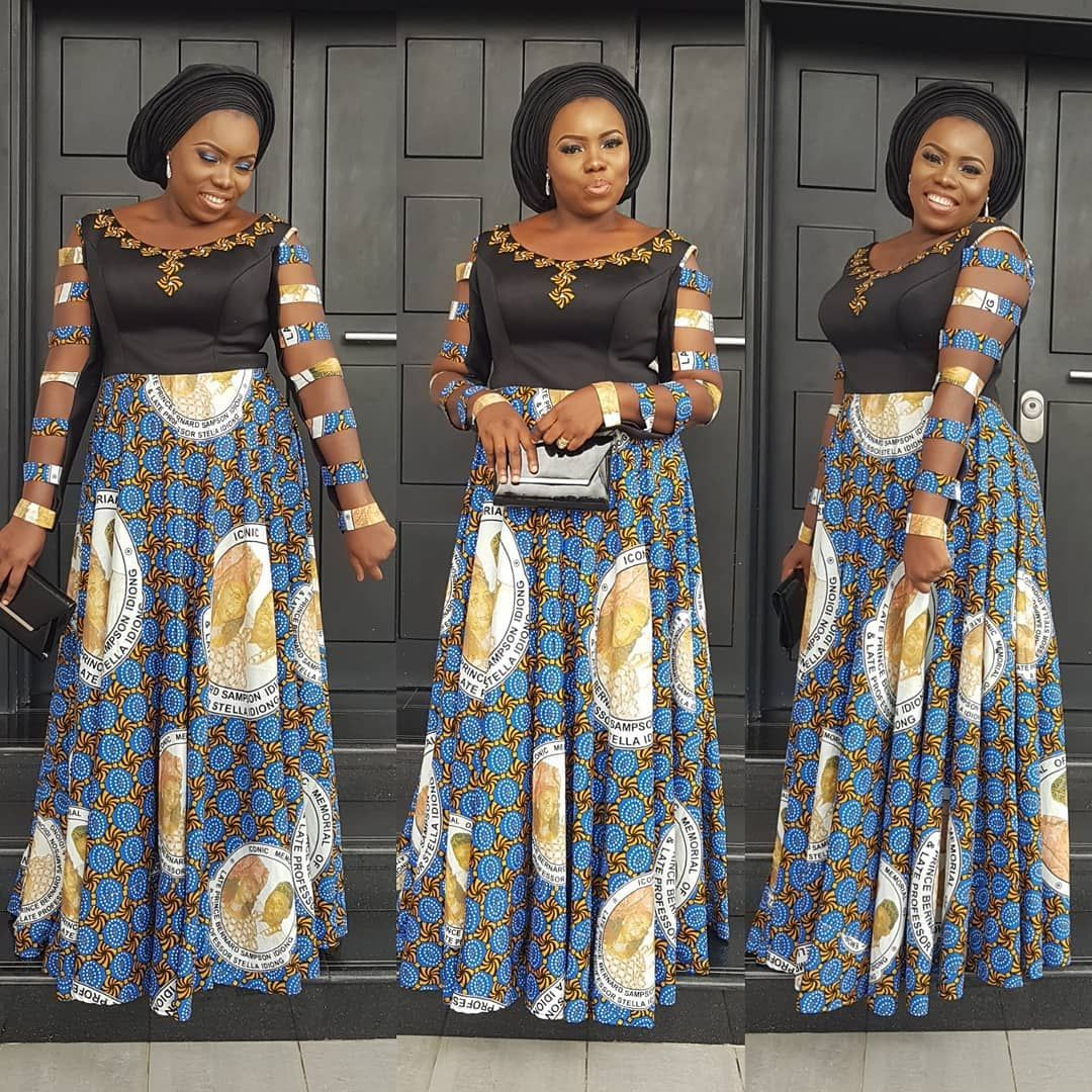 Greetings! Here are 50 Creative, Stylish and Dazzling Ankara Styles ...