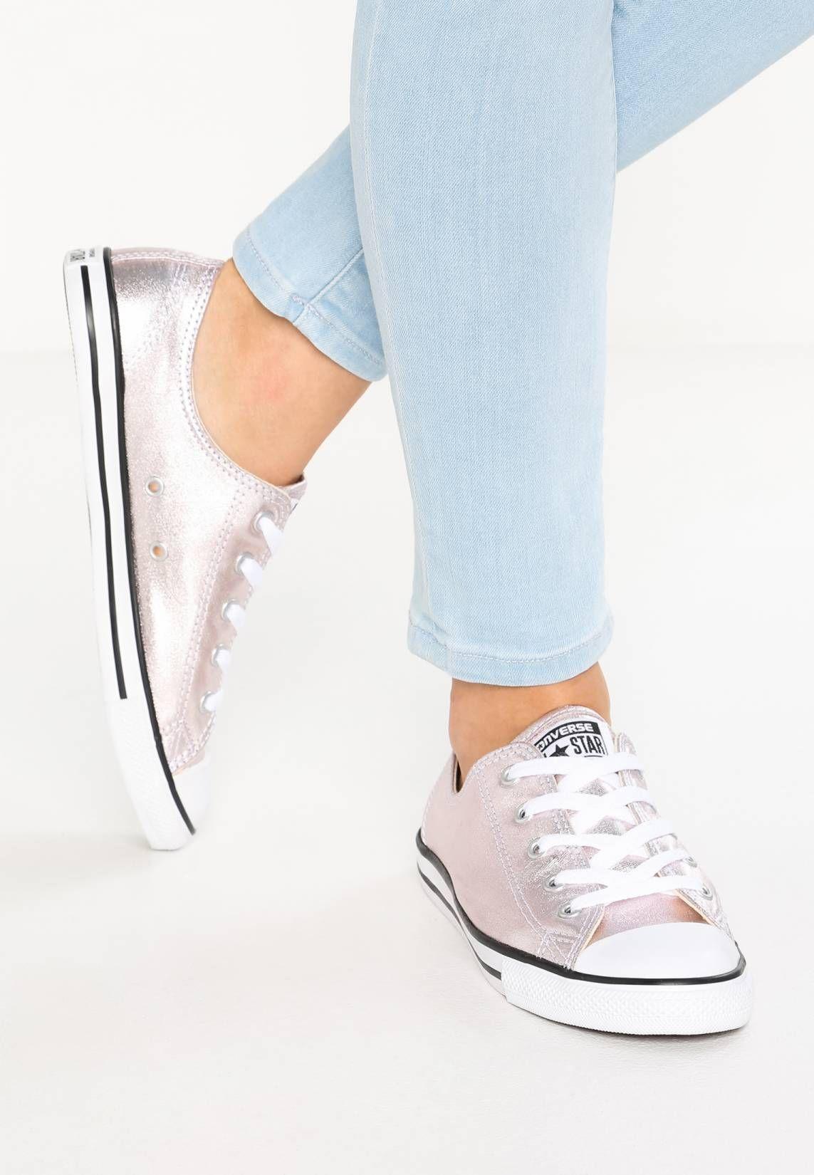 CHUCK TAYLOR ALL STAR DAINTY - Sneaker low - rose quartz/black/white @  Zalando.de  <a href=