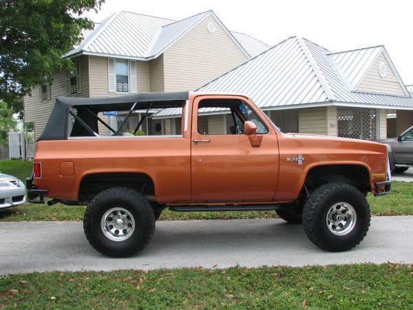 1987 Chevrolet K5 Blazer Suvs For Sale In Louisiana Louisiana