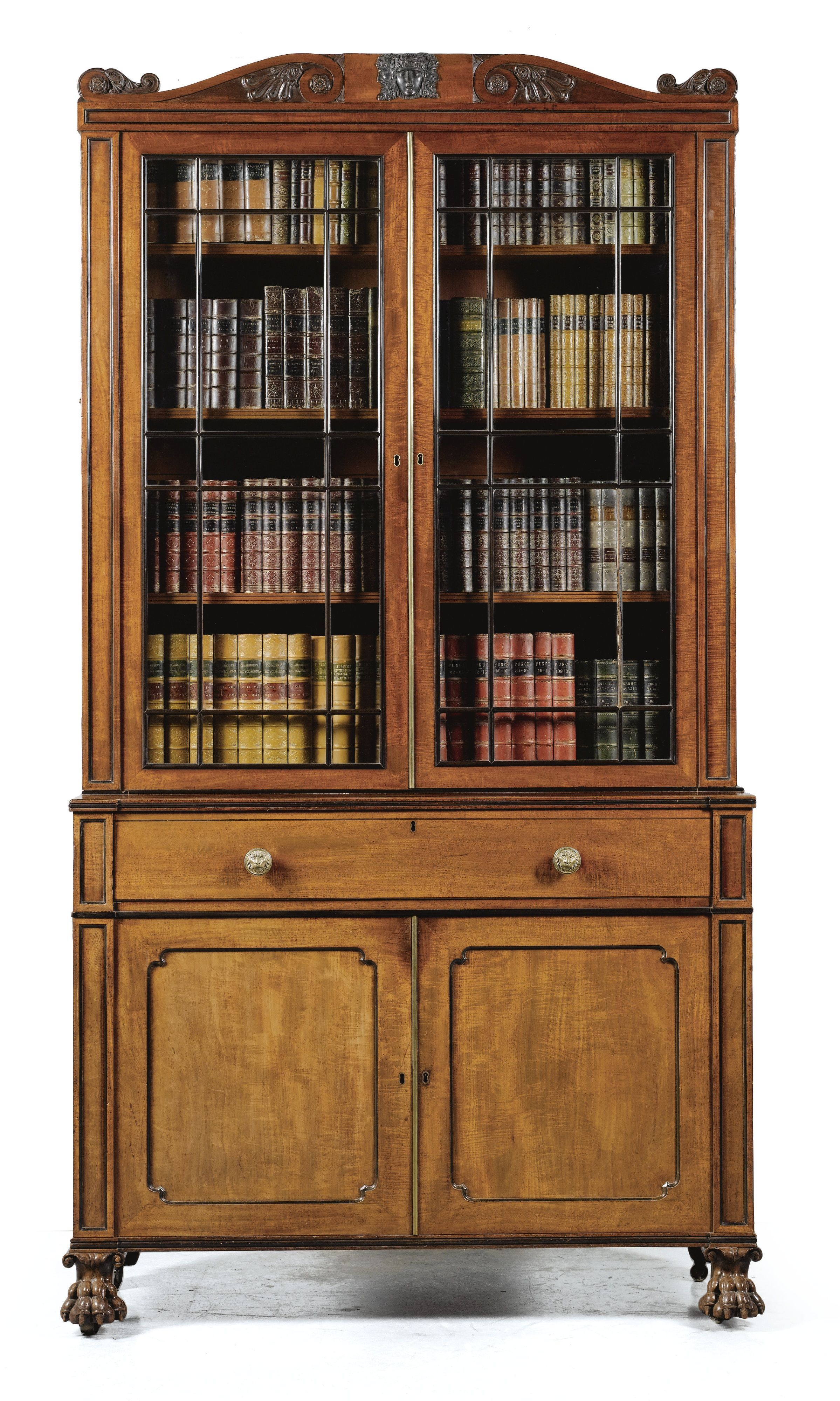 highland item products combination mount with court bookcases circular carmel bookcase number open