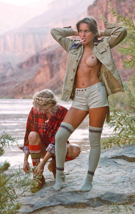 Naked girls hicking 13