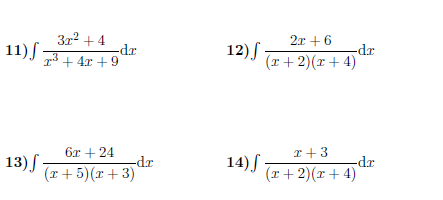 Integration Using Logarithms Worksheet With Solutions A