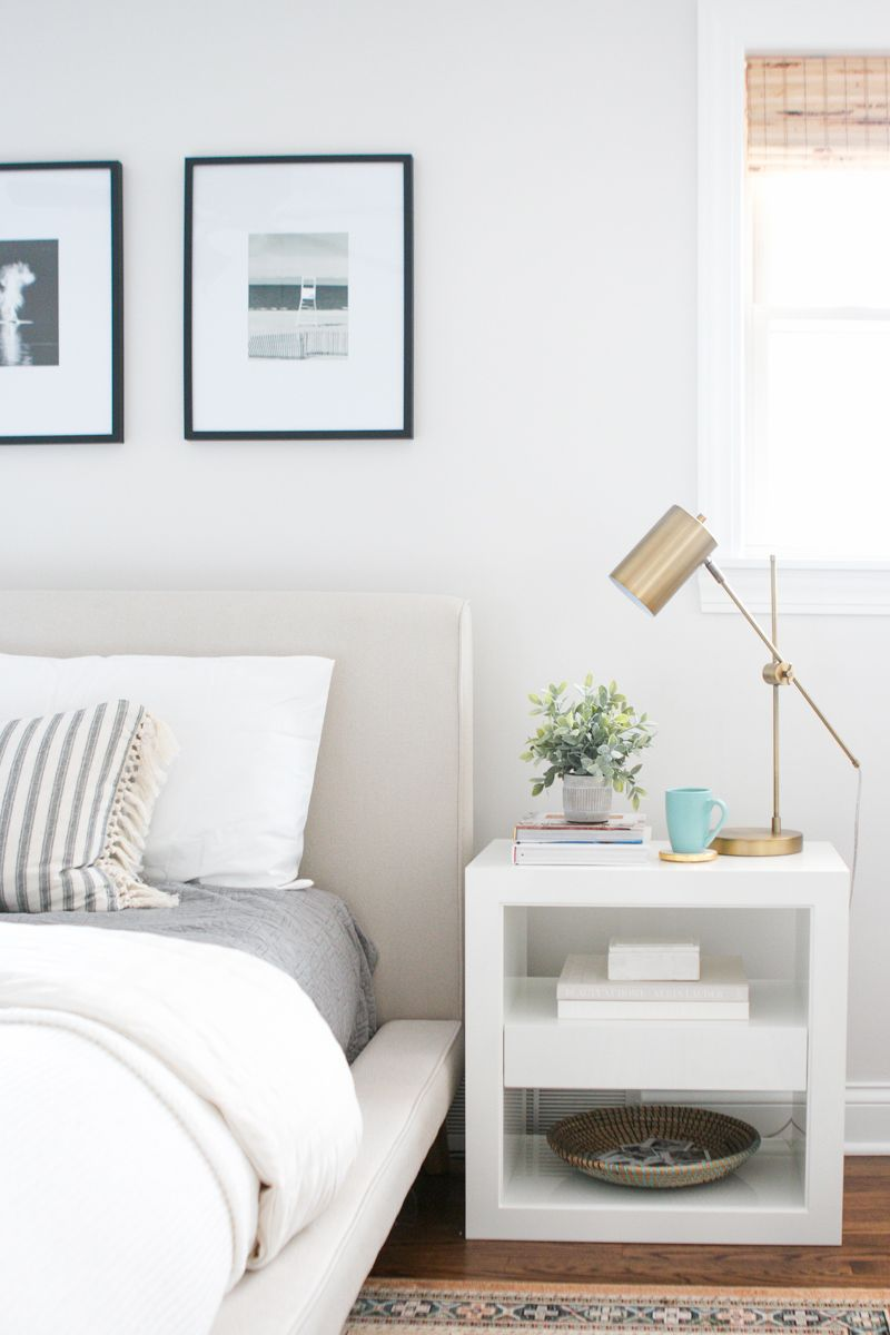 White Nightstands from Serena & Lily images