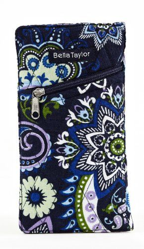 Bella Taylor Madrona Quilted Cotton Eye Glass Case - List price: $16.00 Price: $10.45 Saving: $5.55 (35%) + Free Shipping