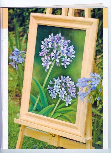 Pintura Decorativa - Flores 1 - TEREPINTURA - Álbuns da web do Picasa
