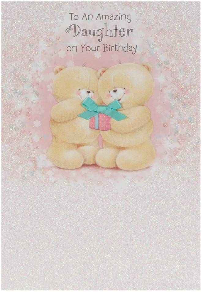 Hallmark Forever Friends Birthday Card For Daughter Gifts And