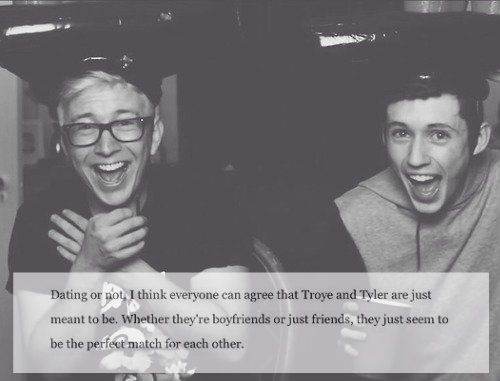 tyler oakley and troye sivan tumblr - Google Search
