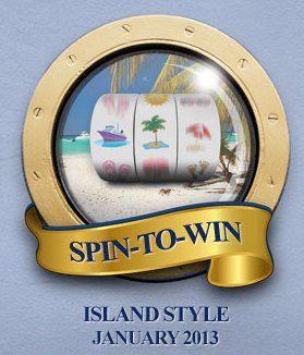 Fortune Lounge Caribbean cruise promotie!