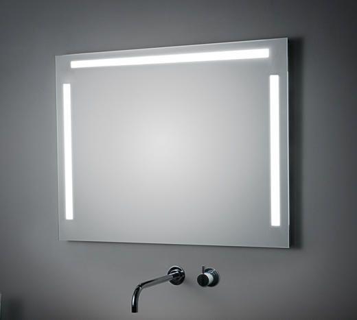 Espejo Con Iluminacion Frontal Superior Y Lateral Espesor
