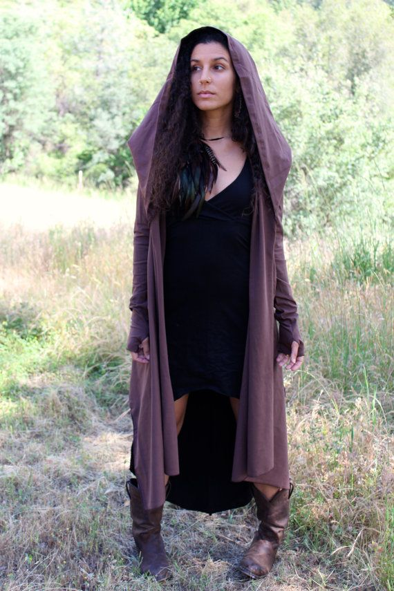 Hooded Cardigan Wrap Elven Jacket by ZhenNymph on Etsy, $87.00 ...