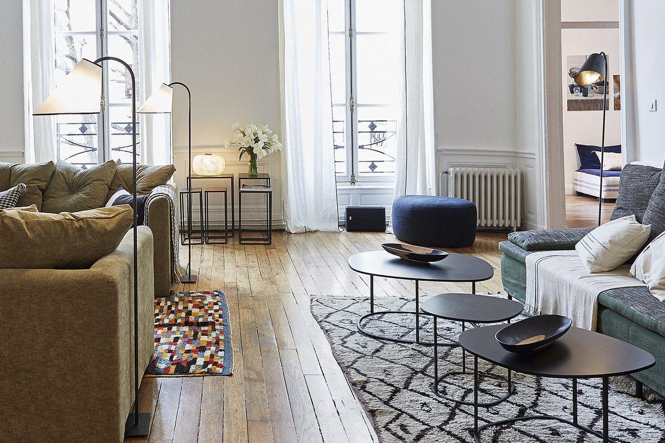 Pouf Caillou Living Room Home Decor