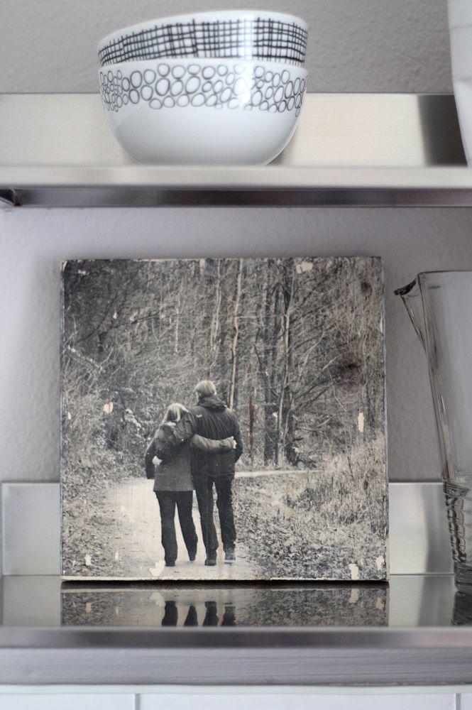 fototransfer auf holz idee aus foto wohnsinn auf ber uns kreativfieber. Black Bedroom Furniture Sets. Home Design Ideas