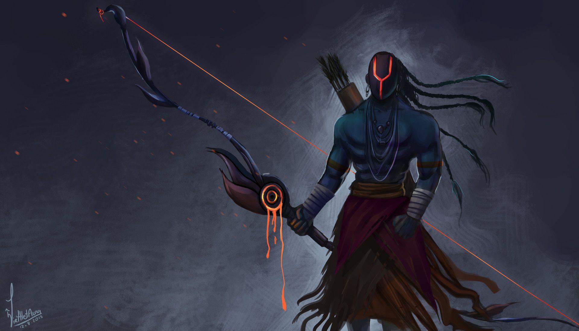 Indian Gods Concept Art