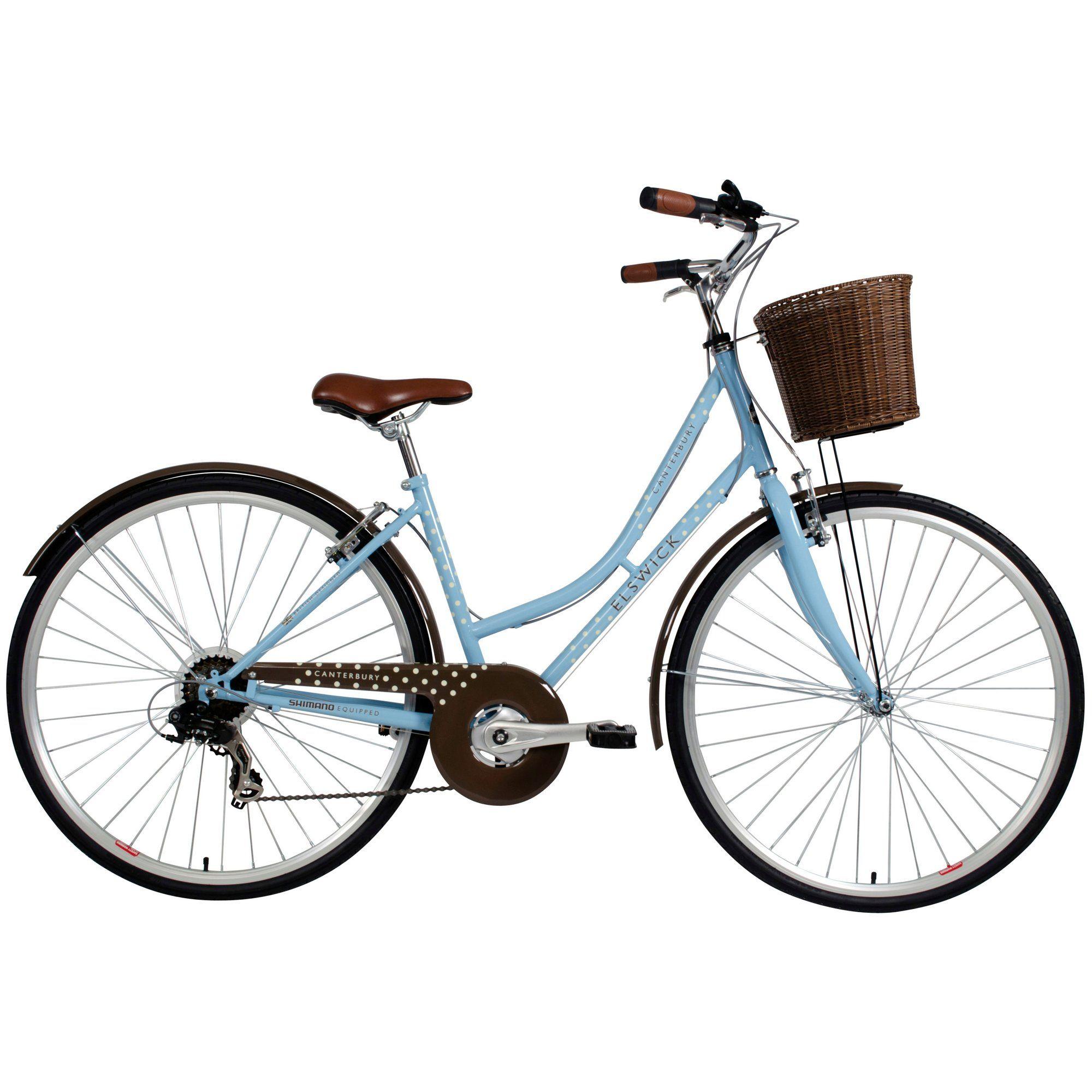 Halfords Elswick Canterbury Womens Hybrid Bike 17 Bicicletas
