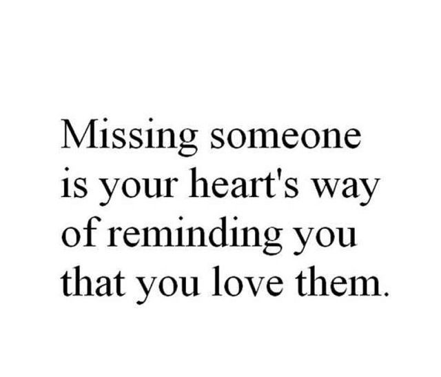 Keep thinking about someone