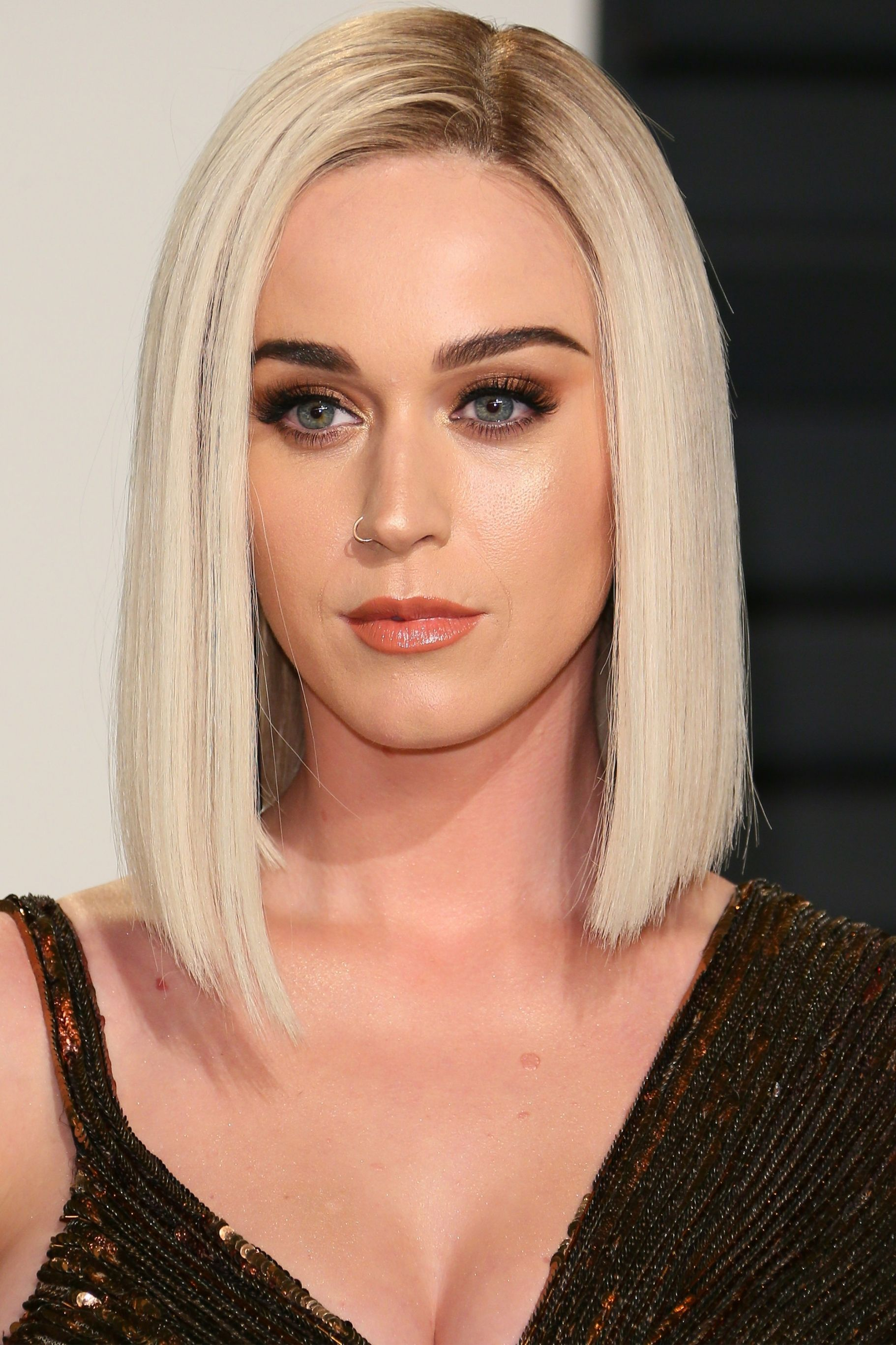 The 59 Best Celebrity Bob Lob Haircuts Katy Perry