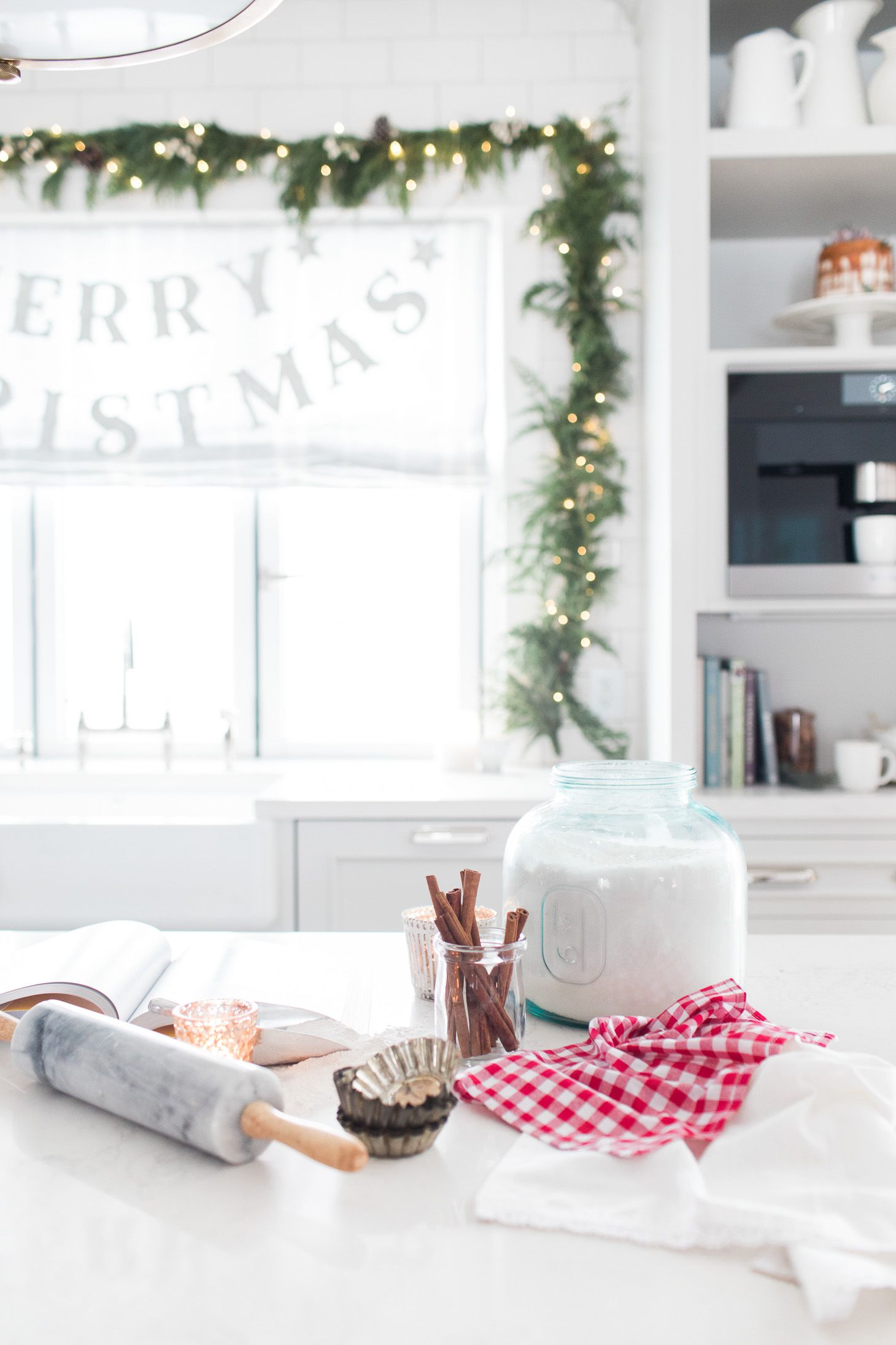 A Festive Christmas Home Tour | lark & linen