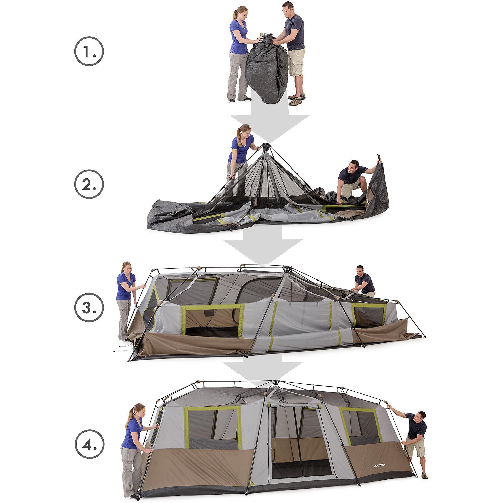 Ozark Trail 10 Person Instant Cabin Tent   Walmart.com