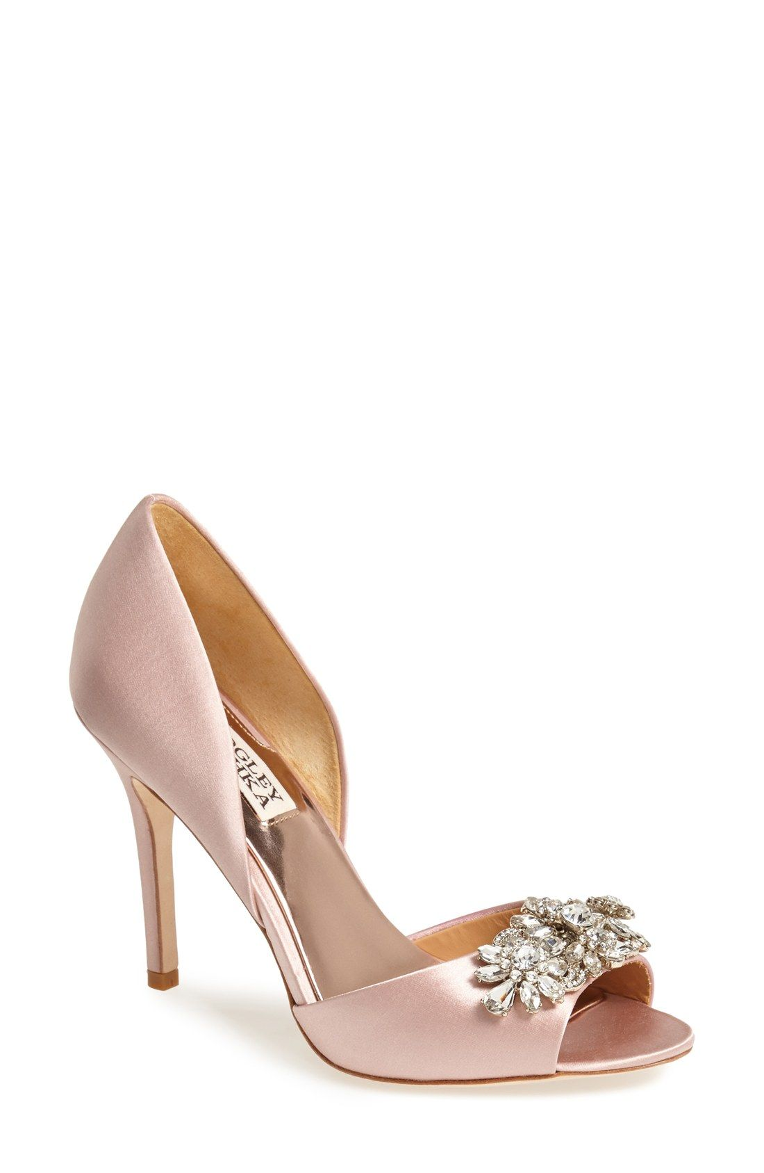 Giana Satin d Orsay Pump