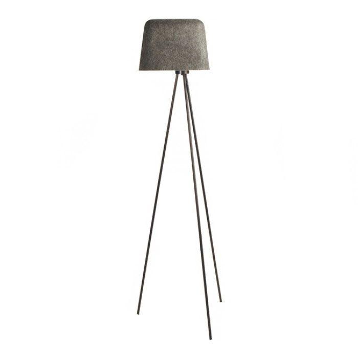Felt Floor Lamp By Tom Dixon Fss01gw Fusm1 Floor Lamp Contemporary Floor Lamps Lamp