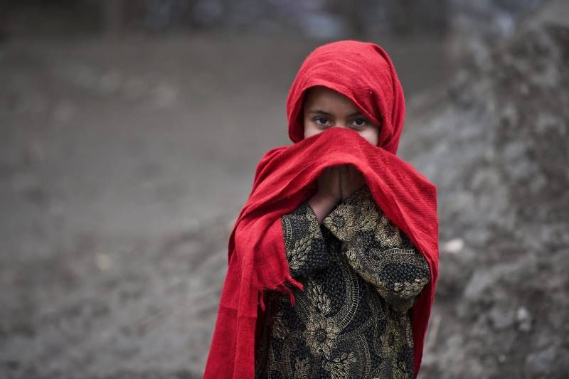 Afghan refugee children in a refugee camp in #Pakistan. UNHCR / S. Rich / January 2012